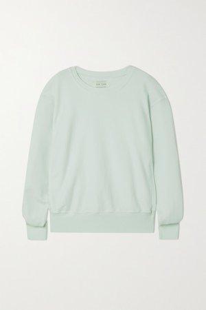 Cotton-jersey Sweatshirt - Mint