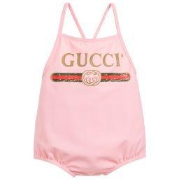 Gucci - Baby Girls Swimsuit | Childrensalon