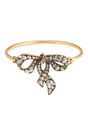 Crystal Embellished Bow Bracelet Gr. One Size