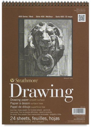 Strathmore 400 Series Smooth Surface Drawing Pad