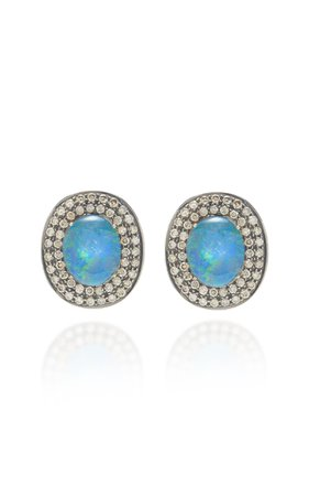 Amrapali Opal and Diamond Earrings