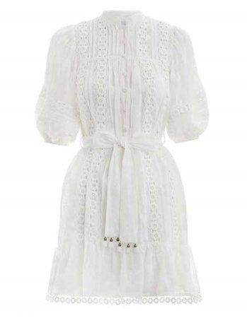 Castile Flower Short Dress | Zimmermann