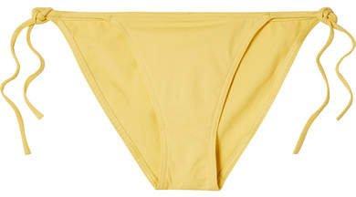 Les Essentiels Malou Bikini Briefs - Yellow