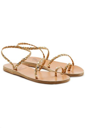 Eleftheria Woven Leather Sandals Gr. IT 40