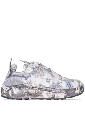 Eytys ocean-print low-top Sneakers - Farfetch