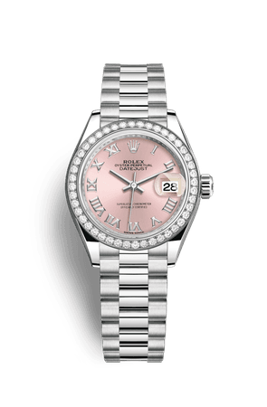 Rolex Lady-Datejust Watch: Platinum - M279136RBR-0012