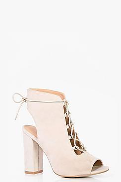 Tia Wide Fit Lace Up Shoe Boots
