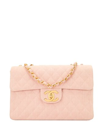 Chanel Pre-Owned 1992 Jumbo Xl Shoulder Bag Vintage | Farfetch.Com