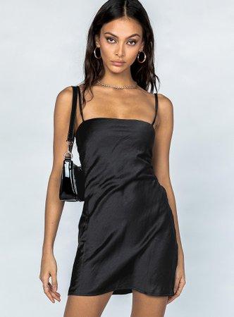 Marina Mini Dress Black