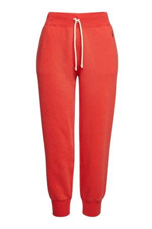 Polo Ralph Lauren - Cotton Sweatpants - red
