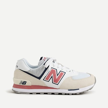white J.Crew: New Balance® 574 Sneakers For Women