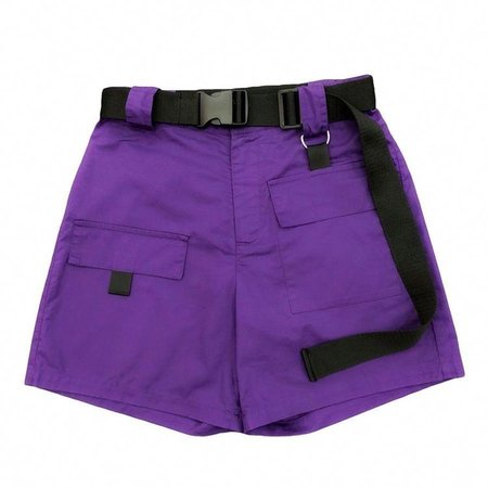 Casual Summer Shorts Women High Waist