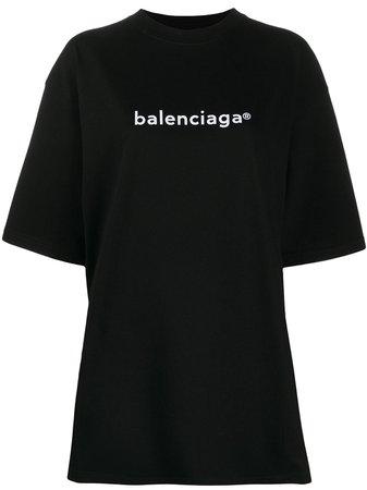 Balenciaga t-shirt i oversize-modell - Farfetch