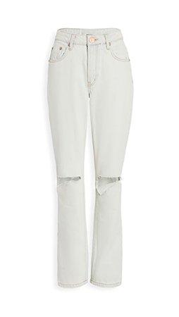 One Teaspoon Awesome Baggies High-Waist Straight Leg Jeans | SHOPBOP