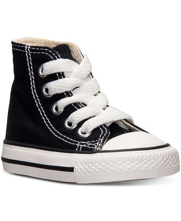Converse Toddler Boys' or Baby Boys' Chuck Taylor Hi Casual Sneakers from Finish Line & Reviews - Finish Line Athletic Shoes - Kids - Macy's