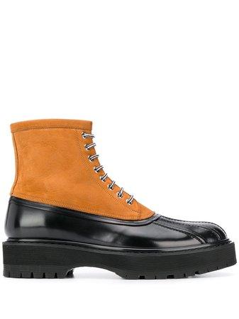 Givenchy dual-tone Hybrid Boots - Farfetch