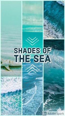 shades of the sea created by looksbylyla