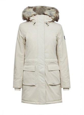 **Only Grey Nylon Coat