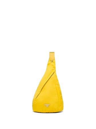 Prada Re-Nylon logo-plaque backpack - FARFETCH