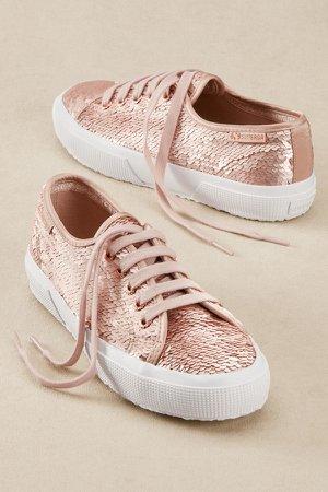 Superga Iridescent Sequin Sneakers
