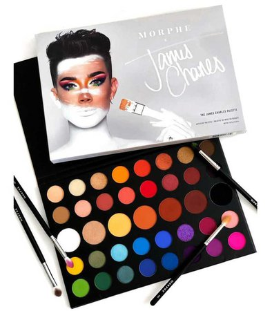 Morphe X James Charles 39 Color Eyeshadow Palette - Makeup