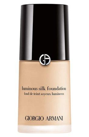 Giorgio Armani Luminous Silk Foundation | Nordstrom