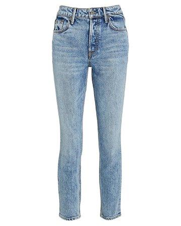 GRLFRND Karolina High-Rise Skinny Jeans | INTERMIX®