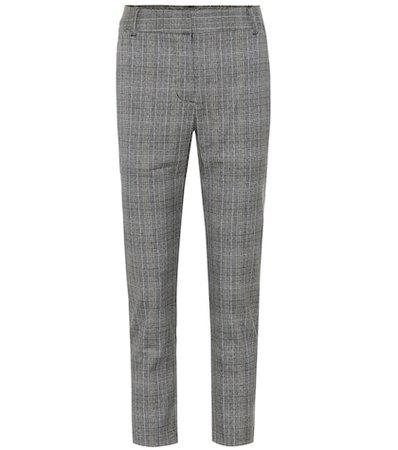 Carilla mid-rise straight pants