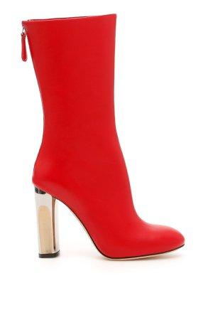 Alexander McQueen Leather Boots