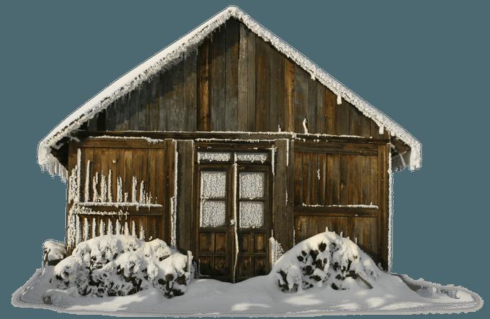 winter cabin polyvore - Google Search