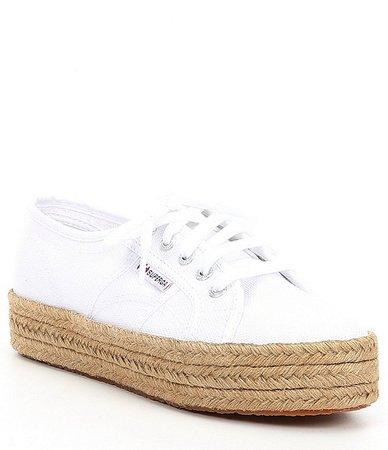 Superga 2730 COTROPEW Flatform Canvas Espadrille Sneakers | Dillard's