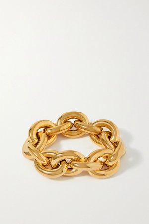 Gold Gold-tone bracelet   Bottega Veneta   NET-A-PORTER