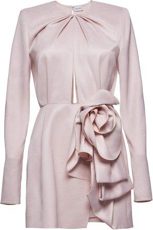 Magda Butrym Floral Detail Mini Dress