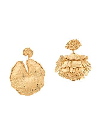 Aurelie Bidermann Giverny Mismatched Earrings Aw19 | Farfetch.com