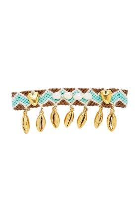 Brinker & Eliza Blissed Out Friendship 24K Gold-Plated Brass Hair Clip