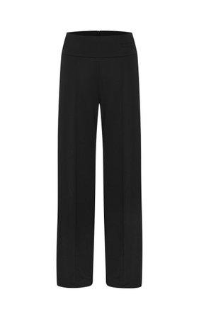 Jersey High-Waist Straight-Leg Trousers By Esse Studios | Moda Operandi