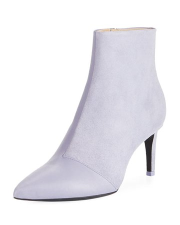 Rag & Bone Beha Slim Leather/Suede Bootie | Neiman Marcus