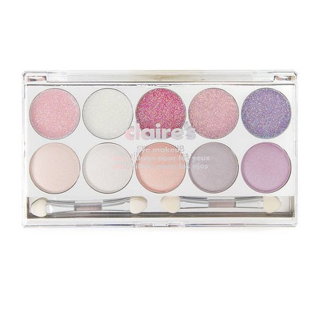 Berry Eyeshadow and Eye Glitz Palette | Claire's US