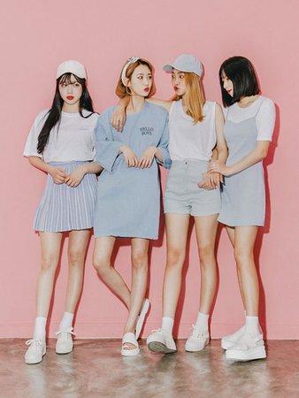 GIRL GROUP KOREAN
