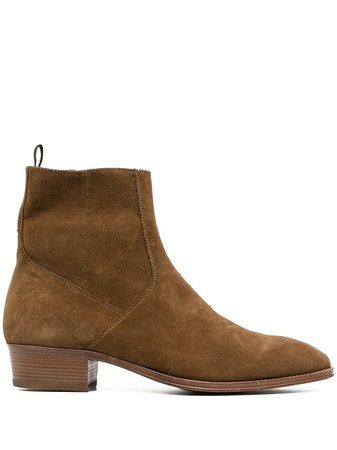 Represent Suede Ankle Boots - Farfetch