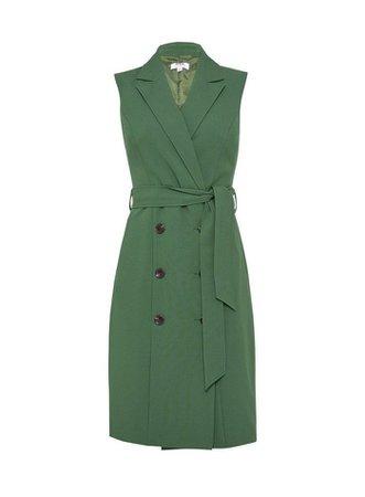 DP Petite Khaki Trench Dress | Dorothy Perkins