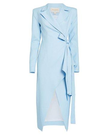 MATÉRIEL | Blazer Wrap Dress | INTERMIX®