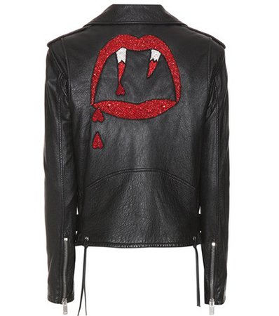 Classic L01 Blood Luster leather jacket
