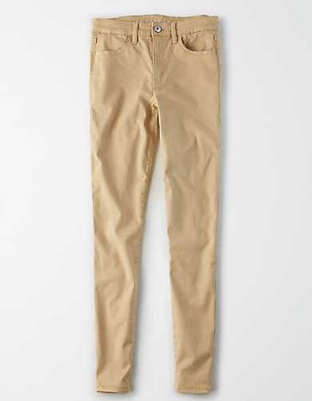 High-Waisted Jegging beige