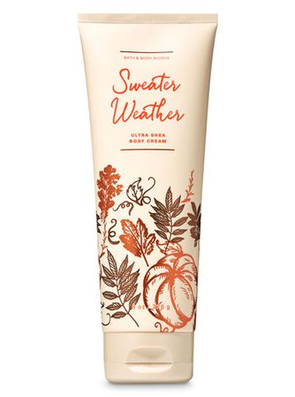 Sweater Weather Ultra Shea Body Cream | Bath & Body Works