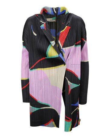 Pleats Please Issey Miyake Pleats Please Issey Miyake Coat - Multicolour - 11155810 | italist