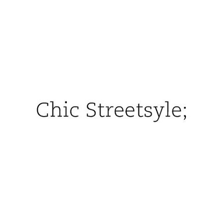 Street style text