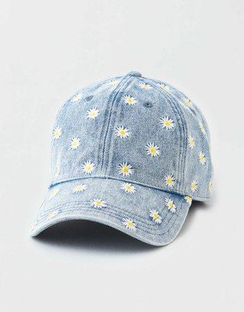 AE Denim Daisy Baseball Hat