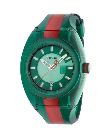 Gucci 46mm Gucci Sync Sport Watch w/ Rubber Strap