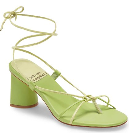 Jeffrey Campbell Xifeng Ankle Tie Sandal (Women)   Nordstrom